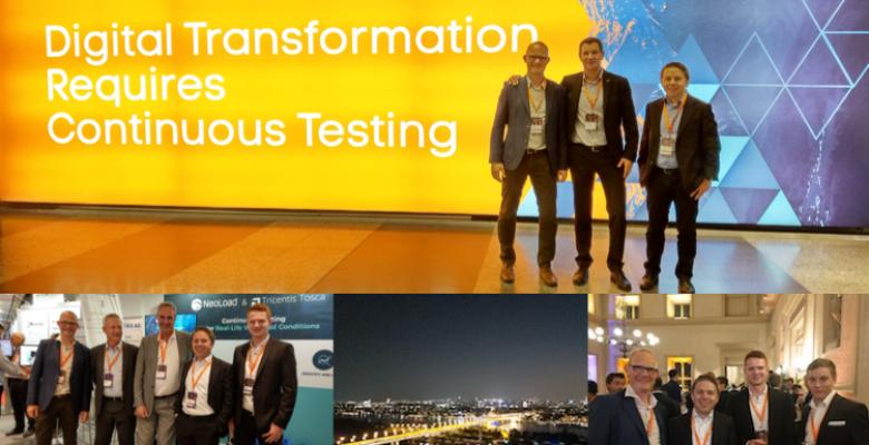 LK Test Solutions @ Tricentis Accelerate 2018 in Wien